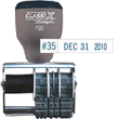 "P20 - P20<br>ClassiX Traditional<br>Message Line Date Stamp<br>1/4"" x 5/16"""
