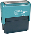 "EP12 - EP12 - ClassiX ECO Self-Inking Message Stamp<br>5/8"" x 2-5/16"""