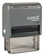 "P08 - P08 - ClassiX Self-Inking Message Stamp<br>5/8"" x 1-7/8"""