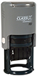 "P37 - P37<br>ClassiX Self-Inking<br>Round Date Stamp<br>1"" Diameter"