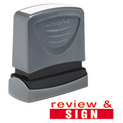 "35171<br>'review & SIGN'<br>1/2"" x 1-5/8"""