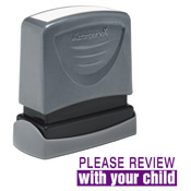 "35172<br>'PLEASE REVIEW with your child'<br>1/2"" x 1-5/8"""
