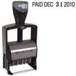 40140 - 40140<br>Self-Inking 4-Year<br>Phrase Line Date Stamp