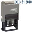 40160 - 40160<br>Plastic 4-Year<br>Self-Inking<br>Line Date Stamp