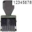 40204 - 40204<br>Traditional<br>Number Stamp<br>Size: 1 / 8-Band