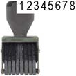 40205 - 40205<br>Traditional<br>Number Stamp<br>Size: 2 / 8-Band