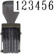 40206 - 40206<br>Traditional<br>Number Stamp<br>Size: 2.5 / 6-Band