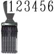 40207 - 40207<br>Traditional<br>Number Stamp<br>Size: 3 / 6-Band