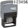 40230 - 40230<br>Plastic Self-Inking<br>Number Stamp<br>Size: 1 / 6-Band