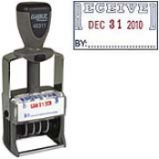 "40311<br>Steel Self-Inking<br>Message Date Stamp<br>""RECEIVED"""