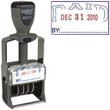 """40312 - PAID Dater 1"""" x 1-5/8"""" Steel Self-Inking"""