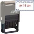 """40320 - FAXED Dater 1"""" x 1-1/2"""" Plastic Self-Inking"""