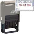 """40321 - RECEIVED Dater 1""""x1-1/2"""" Plastic Self-Inking"""