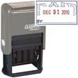 """40322 - PAID Dater 1"""" x 1-1/2"""" Plastic Self-Inking"""