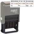 40330 - 40330<br>Plastic Self-Inking<br>Message Date Stamp<br>REC'D/PAID/FAXED