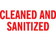 """7036 - 7036 CLEANED AND SANITIZED 1/2"""" x 1-5/8"""""""
