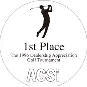 "A71-8052 - A71-8052 Infinity Acrylic Award 5-1/2"" Diameter"
