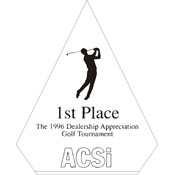 "A77-8052 - A77-8052 Pinnacle Acrylic Award 5"" x 6-3/4"""
