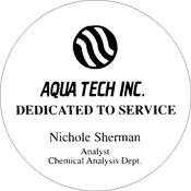 "A80-8051 - A80-8051 Infinity Paperweight Acrylic Award 3-1/2"" Diameter"