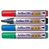 EK-190 - Dry Safe Permanent Markers 2.0-5.0mm Chisel