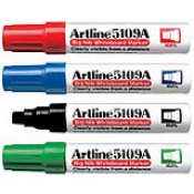 EK-5109A - EK-5109A<br>Artline Big Nib<br>Whiteboard Markers<br>10.0mm Chisel Tip