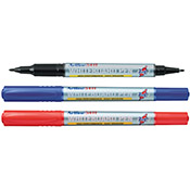 EK-541T - Twin Nib 0.4/1.mm Bullet