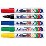 EK-90 - Permanent Markers 2.-5.mm Chisel