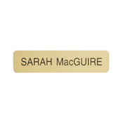 "G01 - G01 - Designer ""Name Plate Only""<br>2"" x 8"""