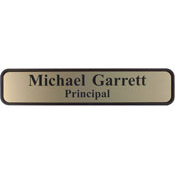 "G38 - G38 - Designer Wall & Door Sign - (BROWN) Frame<br>2"" x 10"""