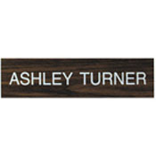 """K06 - K06 - """"Name Plate Only""""<br>3"""" x 12"""""""