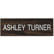 """K07 - K07 - """"Name Plate Only""""<br>4"""" x 12"""""""