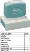 "N22 - Message Stamp<br>1-15/16"" X 2-15/16"""