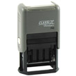 "P40 - P40<br>ClassiX Self-Inking<br>Date Stamp<br>15/16"" x 1-9/16"""