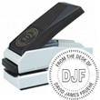 """E17-756 - E17-756<br>Plastic Desk Embosser<br>1-1/2"""" Diameter"""