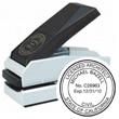 """E17-816 - E17-816<br>Plastic Desk Embosser<br>1-1/2"""" Diameter"""